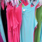 Sukienki, spódnice, mini i t-shirt